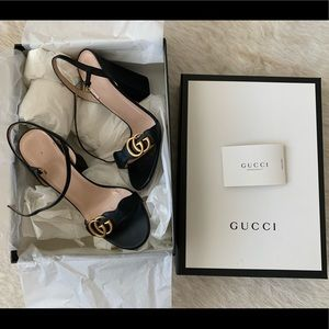 Gucci Leather Sandal 38